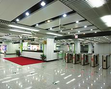 上海地铁2、4、6、9世纪大道换乘站