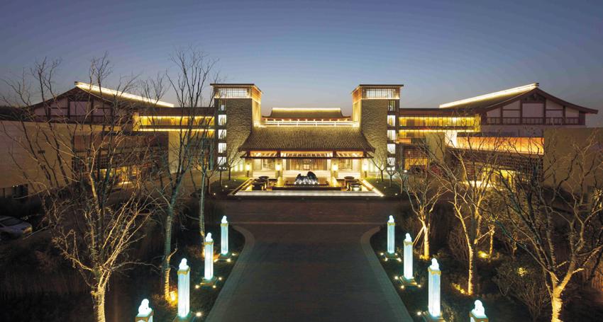 西安临潼悦椿温泉酒店国宾馆