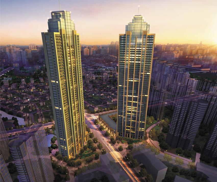 雅戈尔太阳城超高层公寓